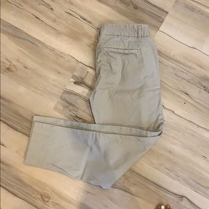 J crew stretch khaki chino pants - 00P